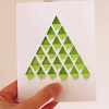 Geometric Tree Card
