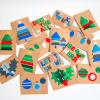 Felt Tree Cards