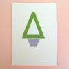 Glittery Tree Card