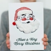 3D Santa Card